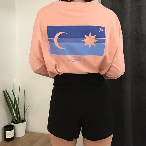 RSST Horizon long sleeve/珊瑚粉卫衣