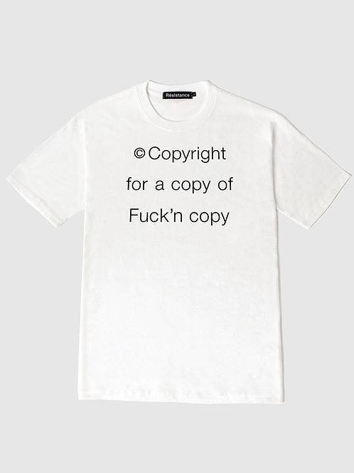 Rsst Copyright t-shirts