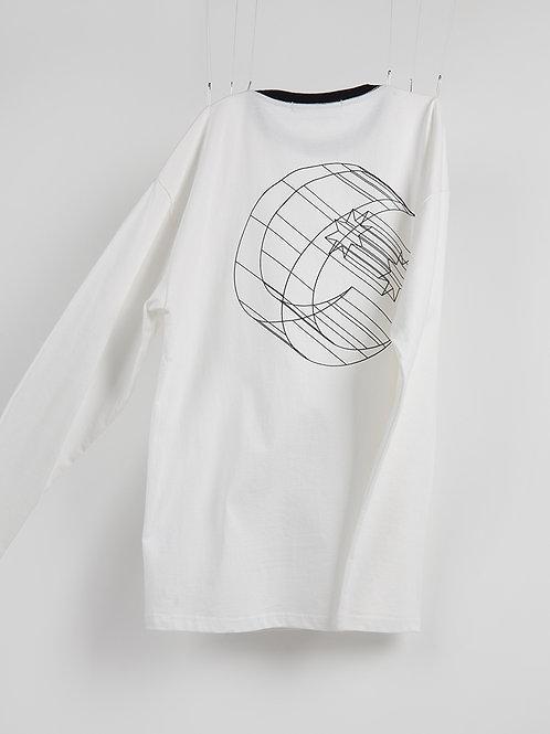 RSST Cresent long sleeve/星月圆领打底
