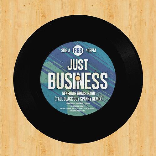 "Tall Black Guy / Colman Brothers Remixes 7"" Vinyl"