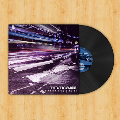 """'The Abbey Road Session' 12"""" Vinyl"""