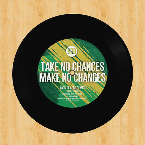 """Lack of Afro / Diesler Remixes 7"""" Vinyl"""