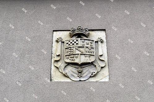 Escudo del Pazo de Montecelo (Paderne, A Coruña)