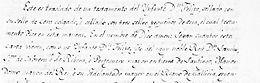 1327, abril, 12, Domingo. Madrid. Testamento del infante don Felipe de Castilla (1292-1327)