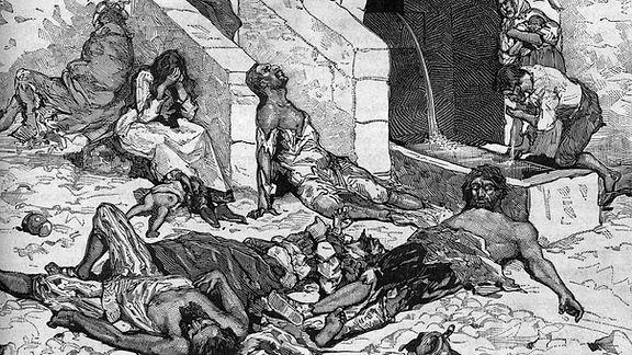 Un caso de peste en Galicia en 1577