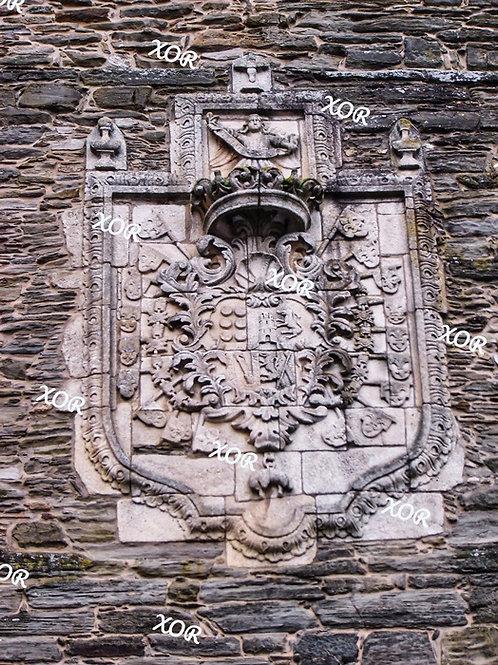 Escudo de los condes de Andrade y Lemos