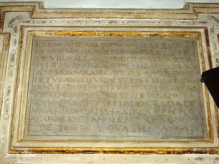 Donación de Teresa Gutierrez de Turanzo a su hijo Pedro de Villaseca vecino de Arcicolla. Año 1520