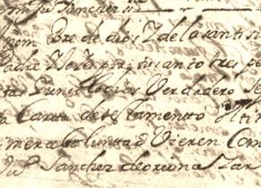 Traslado del testamento original del licenciado Juan Sánchez de Oriona, cura beneficiado de Pantín