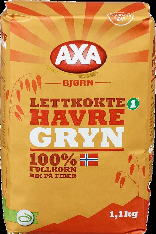 AXA Bjørn Havregryn Lettkokte Original (1,1 kg)