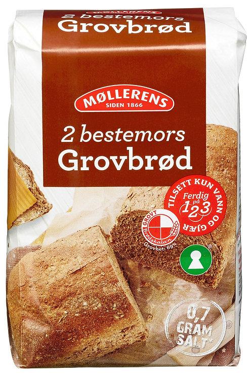 Møllerens bestemors Grovbrød (1 kg)