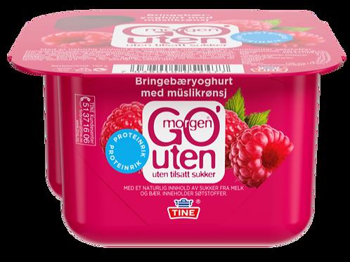 Go'morgen® Yoghurt UTEN Bringebær