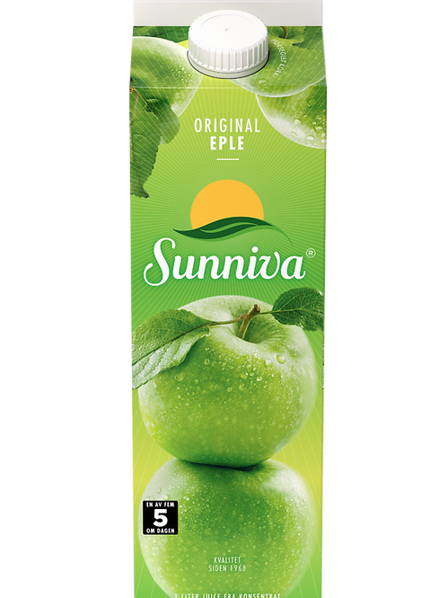 Sunniva® Original Eplejuice (1 l)
