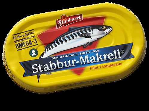 Stabburet Makrell i tomat (170 g)