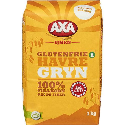 AXA Bjørn Glutenfrie Havregryn (1 kg)