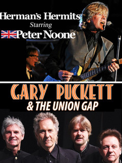 Herman's Hermits Starring Peter Noone And Gary Puckett & The Union Gap