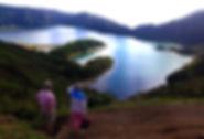 Miradouro da Lagoa do fogo Ribeira Grand