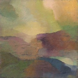 Moorland Abstract – image size, 29cm x 2