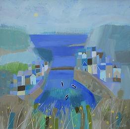 staithes-blues-acrylic-canvas-2020-40x40