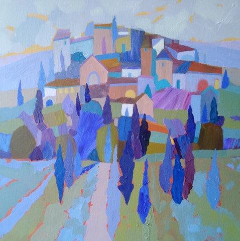 Hilltop Village, Tuscany