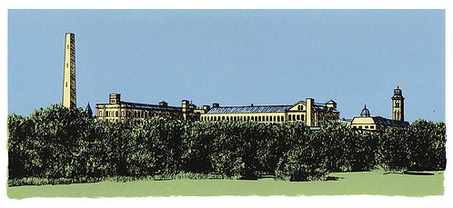 Saltaire Across The Green