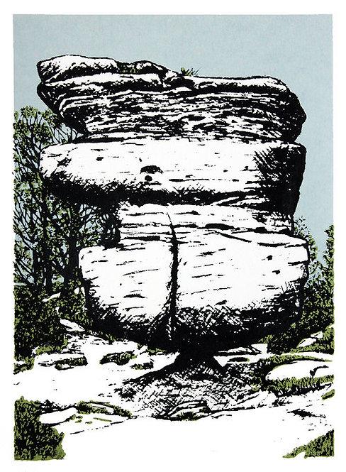The Balancing Idol Stone