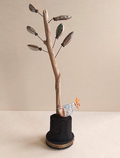 Tall Tree No3 & Bird