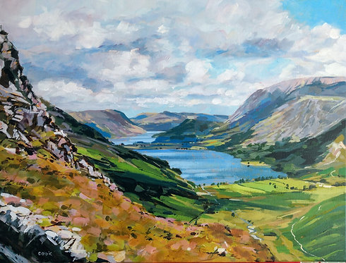 *SOLD* The Buttermere Valley From Haystacks