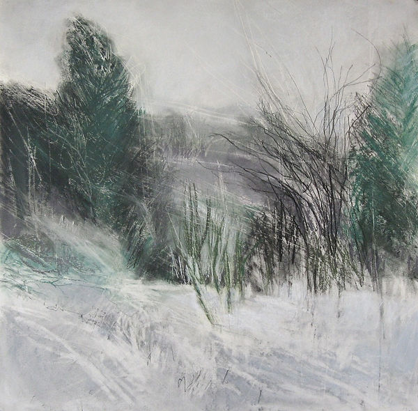 'Peasholm Glen in Snow', Janine Baldwin,