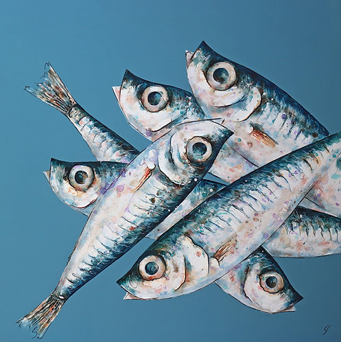 *SOLD* Six Sprats