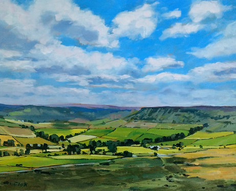 *SOLD* Late Summer In Fryup Dale, North York Moors