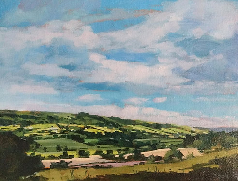 *SOLD* Looking Across To Aislaby