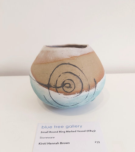 Small Round Ring Marked Vessel (KB43)