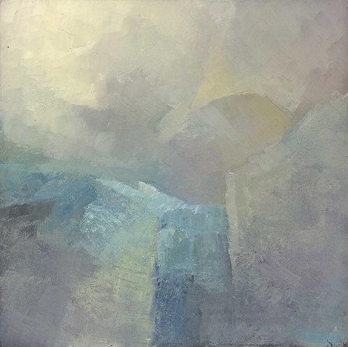 Winter Mist Abstract