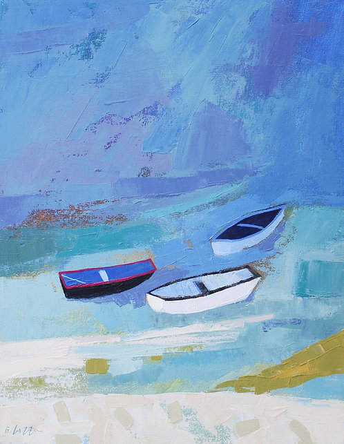 *SOLD* Boats At Staithes