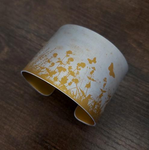 Wide Cuff, Golden Meadow