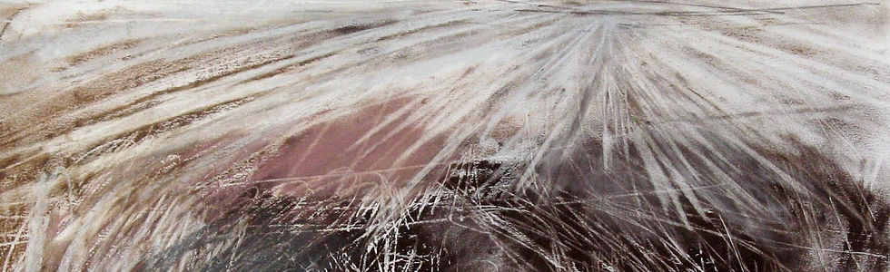 'Expanse', Janine Baldwin, pastel, charc