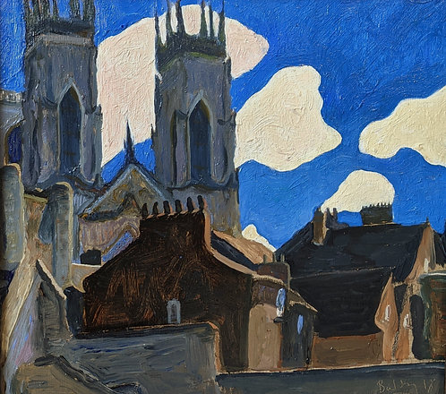 *SOLD* A Fine Day, York Minster