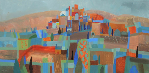 *SOLD* Fields to San Gimignano