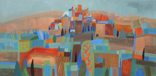 fields-to-san-gimignano-acrylic-canvas-5