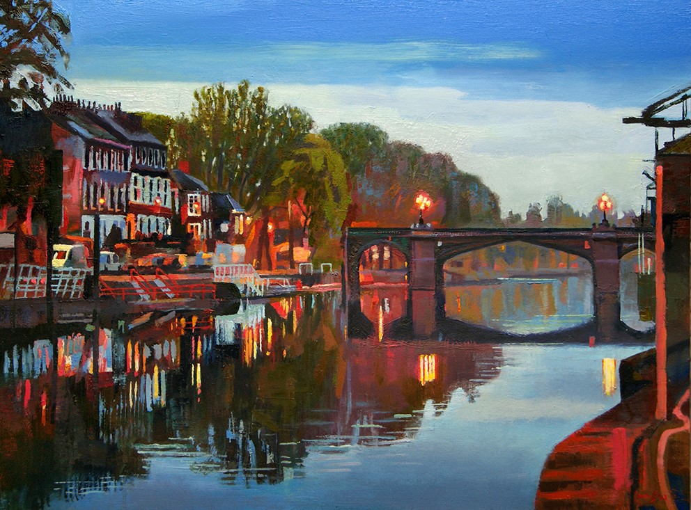 Skeldergate calm, 70cm x 52cm, , Mixed m
