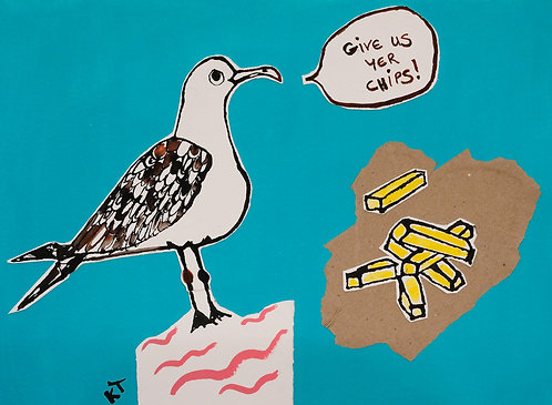 *SOLD* Common Seagull