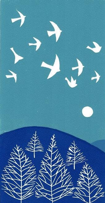 Hilltop Flight, Blue