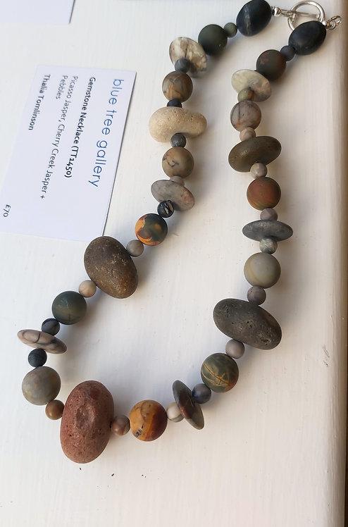 Gemstone Necklace (TT1450)