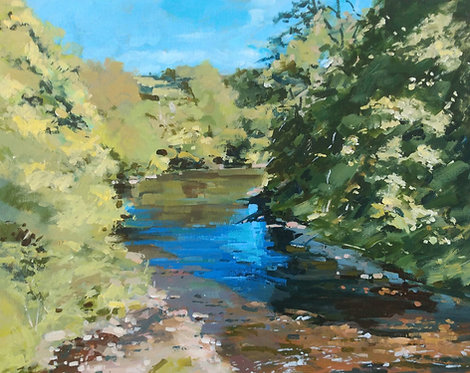 *SOLD* The River Esk at Grosmont