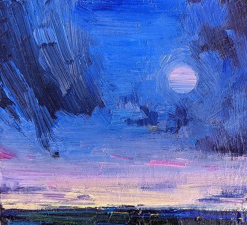 Full Moon, Rain Clearing