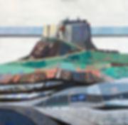 Lindisfarne_Castle,_Holy_Island,_Acrylic