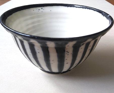 "Stripy 6"" Bowl (GO-050)"