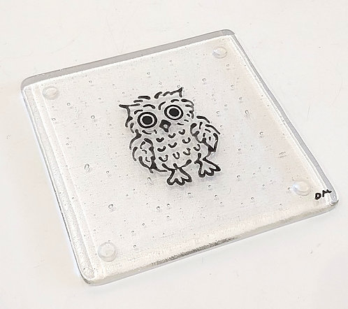 Black Owl Coaster