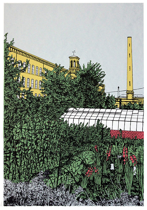 Down The Allotment, Saltaire