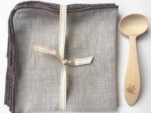 Natural Sand Linen Napkins